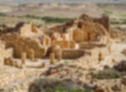 Шивта, набатейский город, археологические раскопки, пустыня Негев, Израиль