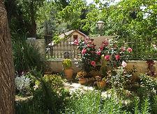 Израиль, Иерусалим, Горненский монастырь, сад на территории монастыря, паломнические туры, путешествие по Израилю