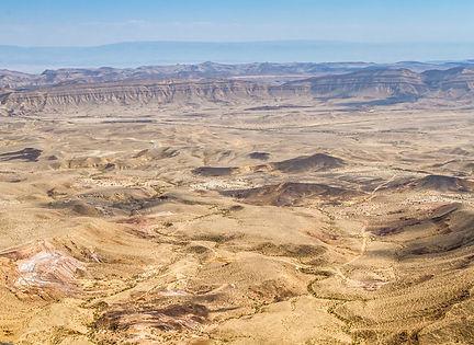 Большой Махтеш, пустыня Негев, Израиль