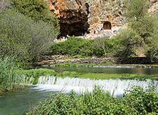 Израиль, Природный заповедник Баниас, пещера Пана, однодневные экскурсии в Израиле, путешествие по Израилю