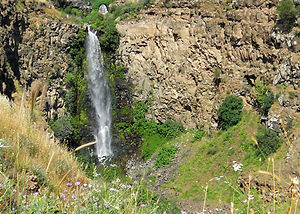 Природный заповедник Гамла, водопад Гамла, Израиль