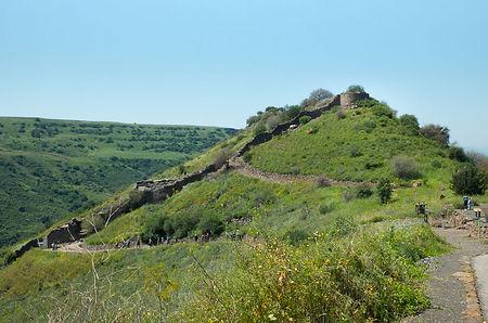 Гамла, природный заповедник, археологические раскопки, древний город, Израиль