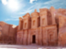 Иордания, древний каменный город Петра
