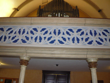 Decorative Plaster Glazing