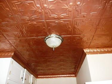 Residential Tin Ceiling
