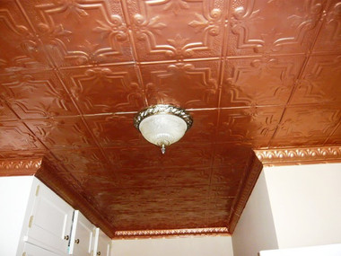 Residential Tin Ceiling