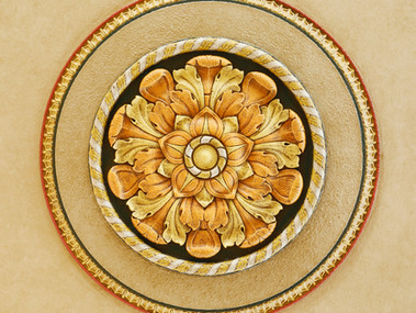 Plaster Ceiling Decoration