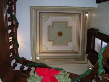 Bradbury Stairway Ceiling