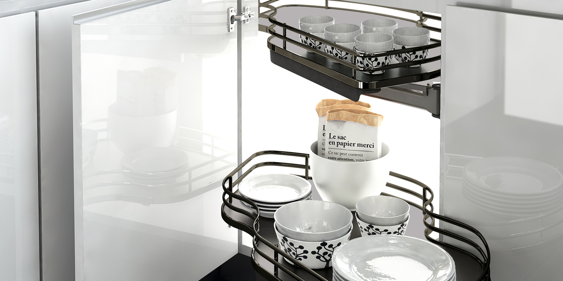 Elite Combi Pull Out Shelves