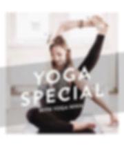 UNIK Trainining: Flyer Juicy Hatha Yoga mi Yoga Nina