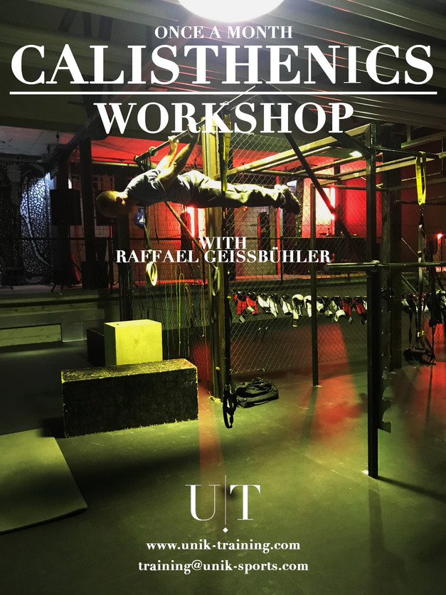 CALISTHENICS WORKSHOP