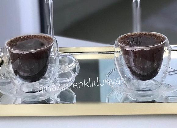 Çift Çifarlı 2'li Türk Kahvesi