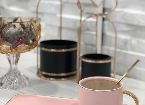 Özel Tasarım Çay Fincanı Pembe