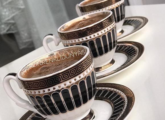 Türk Kahvesi Fincanı 6'lı Set