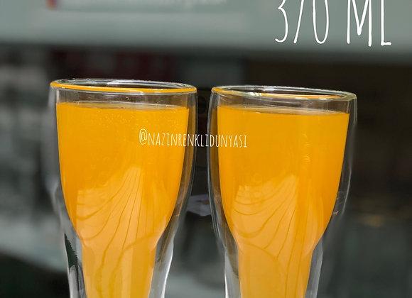 Borosilikat Cam 2'Li Meşrubat Bardağı