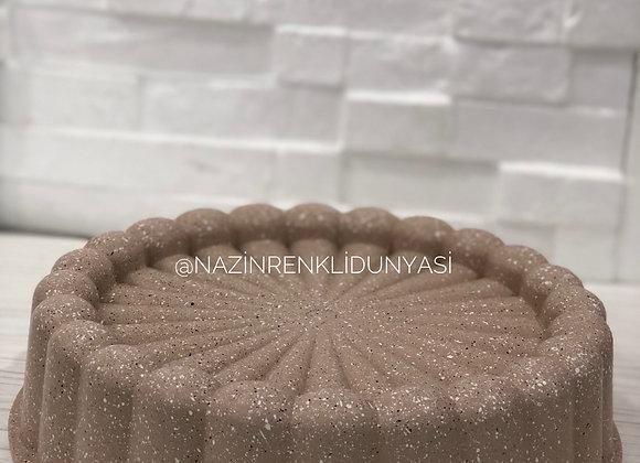 Granit Kaplama Döküm Tart Kalıbı