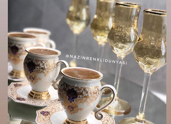 Türk Kahvesi Fincan Seti
