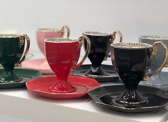 Renkli Ayaklı Türk Kahvesi