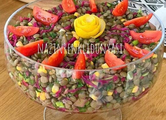 Ayaklı Salata Kasesi