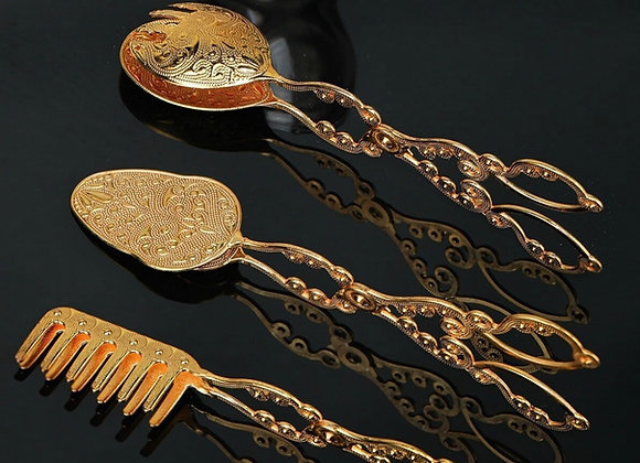 3'Lü Servis Seti Gold