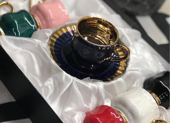 Renkli Gold Türk Kahvesi