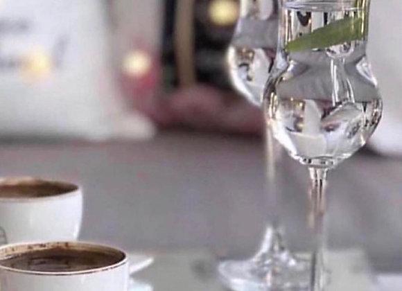 6 Adet Paşabahçe Grappe Kahve Yanı Bardak