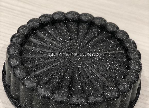 Granit Döküm Kaplama Turta Kalıbı