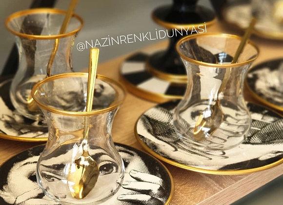Tasarım 6 Kişilik Çay Seti