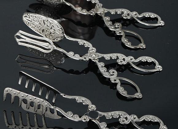 3'Lü Servis Seti Gümüş