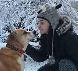 Pet sitting on a snow day in Portland, OR