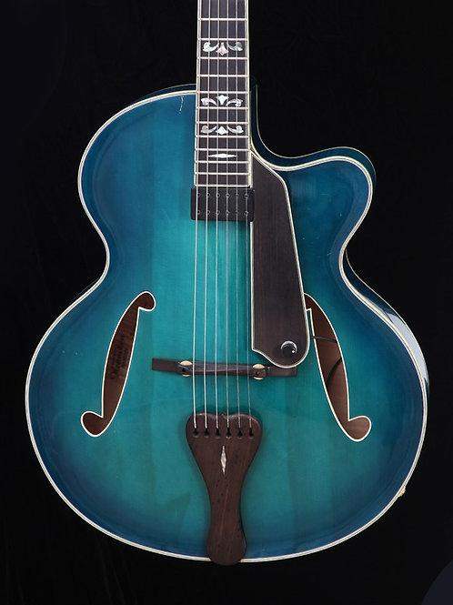 """Henneken 16"""" Archtop Jazz Guitar w/ Calton Case"""