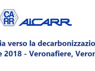 Verona, 18 ottobre 2018: L'industria verso la decarbonizzazione