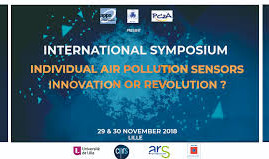 "Lille (Francia), 29-30/11/2018: ""Individual air pollution sensors. Innovation or revolution?&qu"