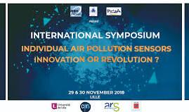 "Lille (Francia), 29-30/11/2018: ""Individual air pollution sensors. Innovation or revolution?&qu"