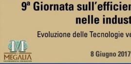 Milano, 8 giugno 2017 - IX Giornata sull'efficienzaenergetica nelle Industrie