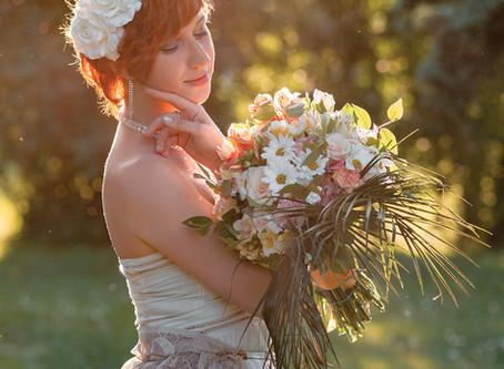 Украшение фотосессии - цветочные венки в аренду