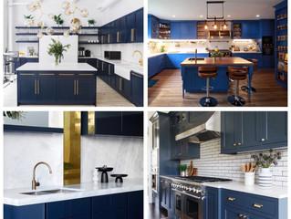 Navy Kitchen สีนี้น่าหลงใหล ไอเดียแต่งบ้านสวยๆกับครัวสีสวยๆ