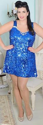 Karen For Publication Vintage Sequin Dre