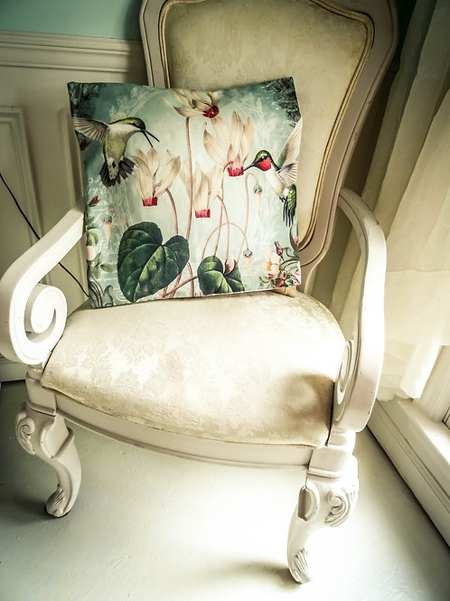 """Conservatory Chic Hummingbird Pillow Cover 17""""x17"""""""