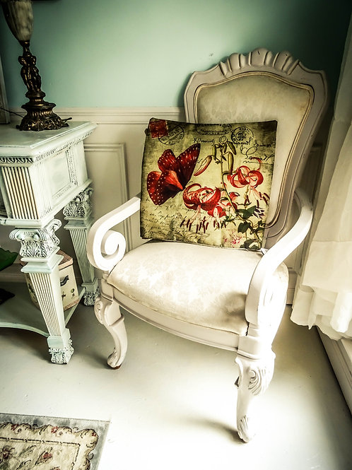 """Divine French Country Chic Pillow Cover 17""""x17"""""""