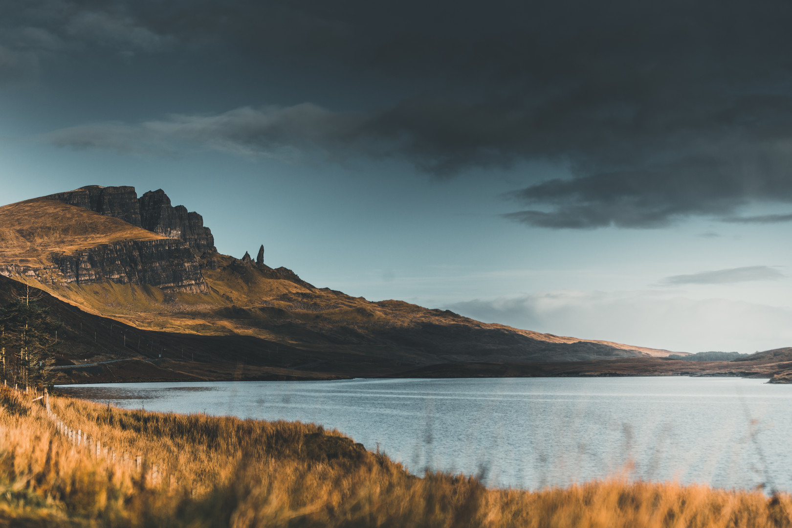 The Old Man of Storr view