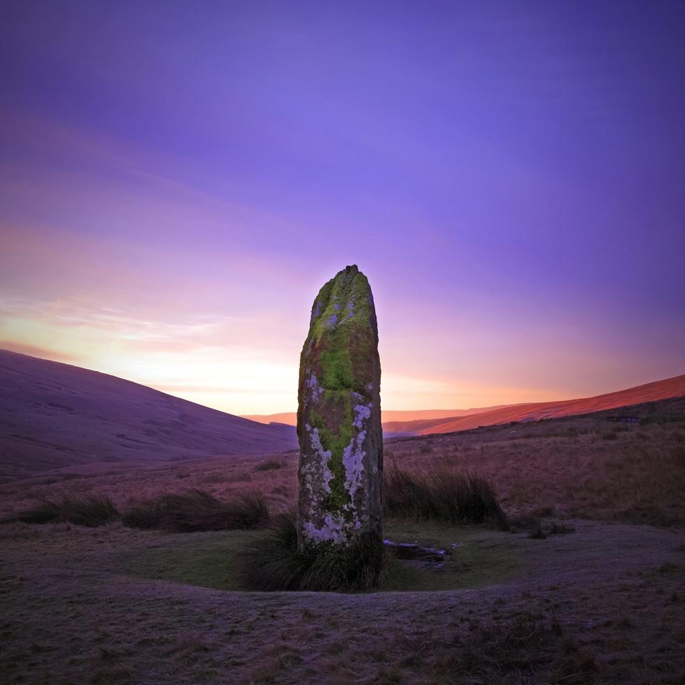 Maen Llia - standing Stone