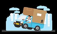 logistik dan ekspedisi - prieds