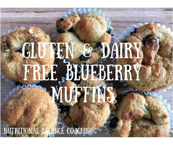 Kid's Choice: Gluten & Dairy Free Blueberry Muffins