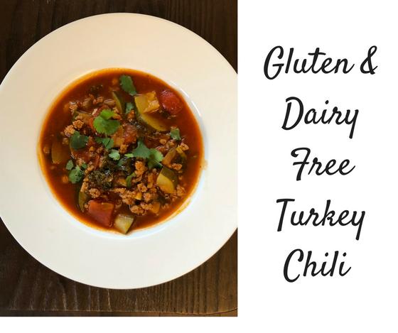 Gluten & Dairy Free Turkey Chilli