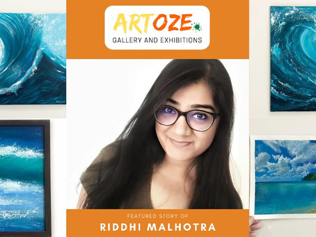 """Inspire and Empower"" - Featured Artist - Riddhi Malhotra"