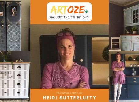 """Inspire and Empower"" - Featured Artist - Heidi Sutterluety"