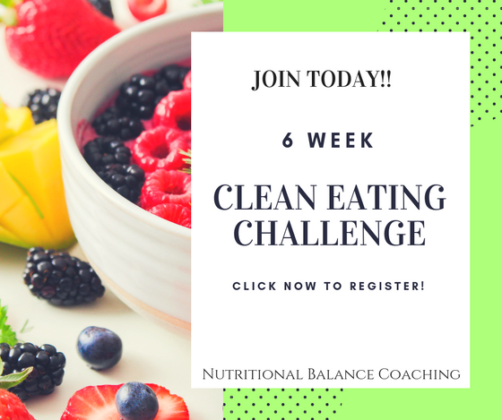 Goal Setting and a Clean Eating Challenge!