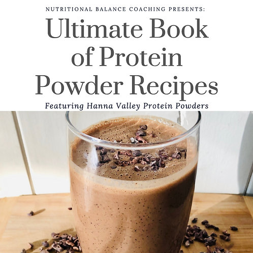 Ultimate Book of Protein Powder Recipes