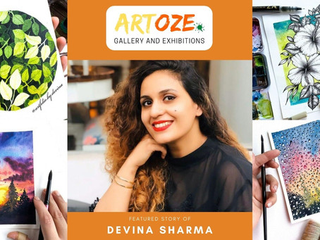 """Inspire and Empower"" - Featured Artist – Devina Sharma"